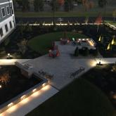 Courtyard at the Residences in Colonie
