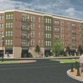 Electric City Apartments in Downtown Schenectady (Artist rendering)