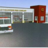 Artist rendering of Galway FD New Station